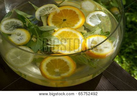 tasty and cold drink