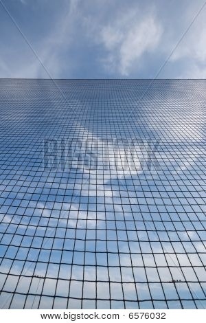 Abstract Backstop Net Background