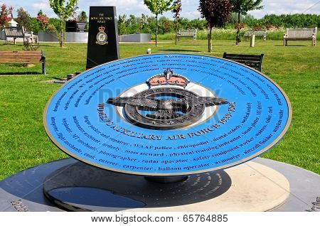Womens Auxiliary Air Force Memorial.