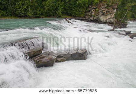Rearguard Falls Of The Fraser River