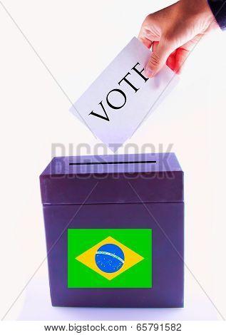 Brazil Urn For Vote
