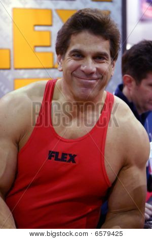 Lou Ferrigno At Arnold Fitness Health Expo