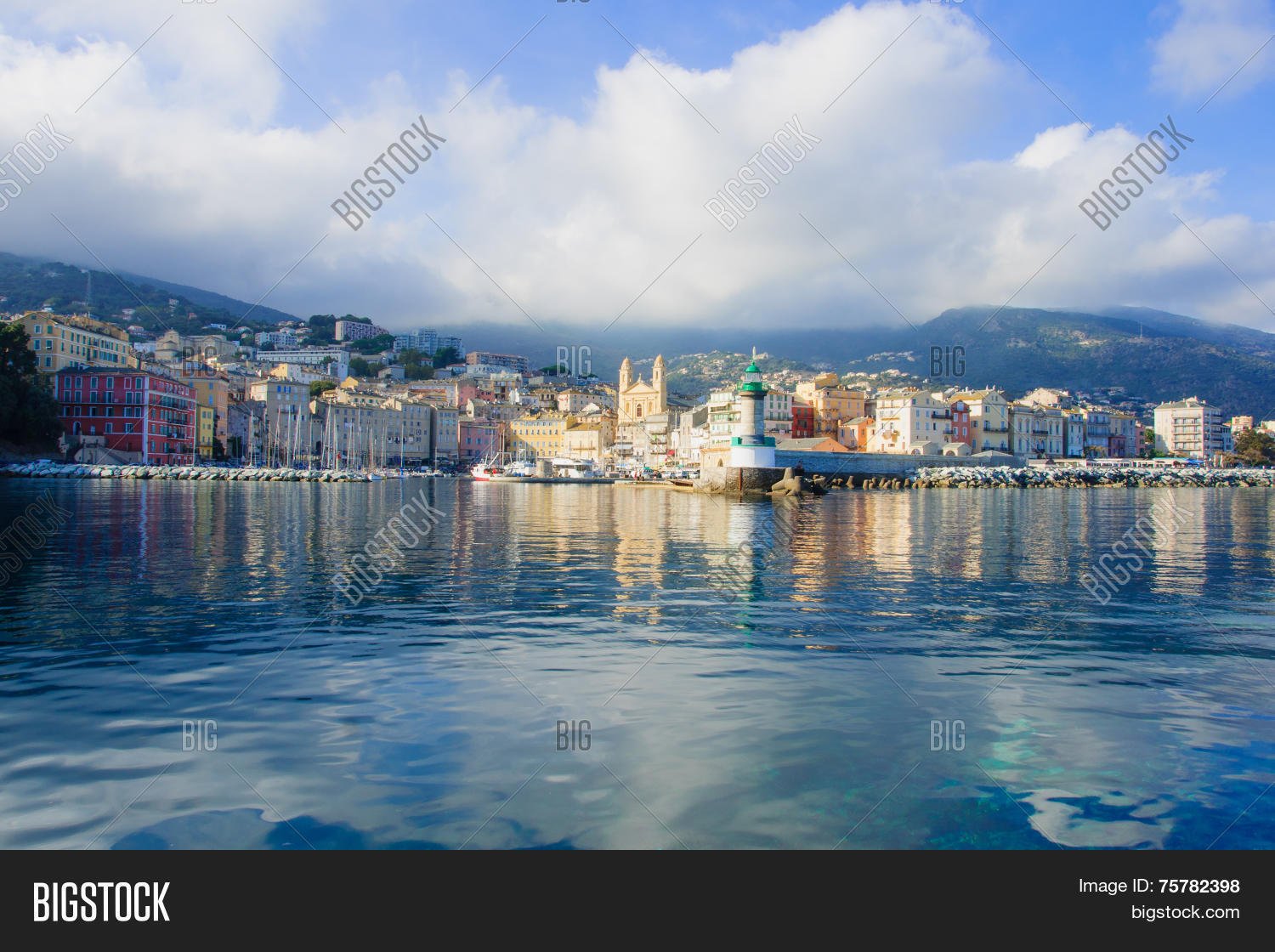 Bastia Vieux Port Image Photo Free Trial Bigstock