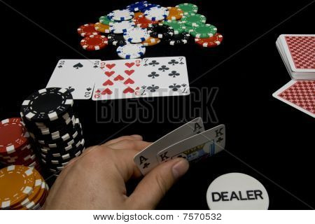 In game hold-em