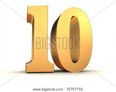 golden number - 10