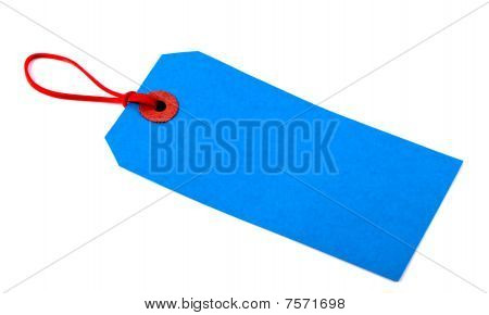 Blue Luggage Tag
