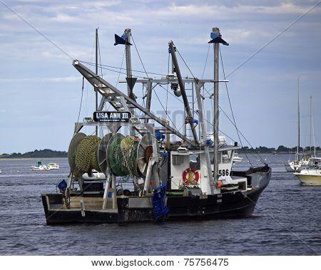 Merrimack Fishing Trawler