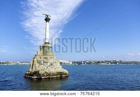 Sevastopol. Sunken Ships Monument