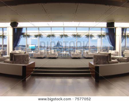 interior of a panoramic restaurant