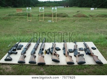 The Russian Shooting And Hunting Weapon