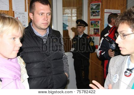 The head of the electoral headquarters of opposition activist Yevgenia Chirikova, Nikolai Laskin