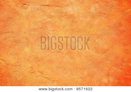 Orange Color Wall