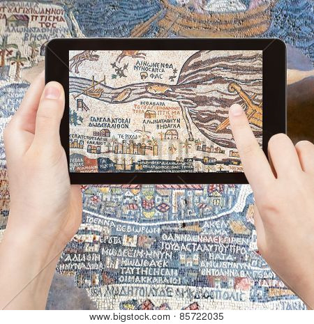 Tourist Photographs Of Ancient Holy Land Map