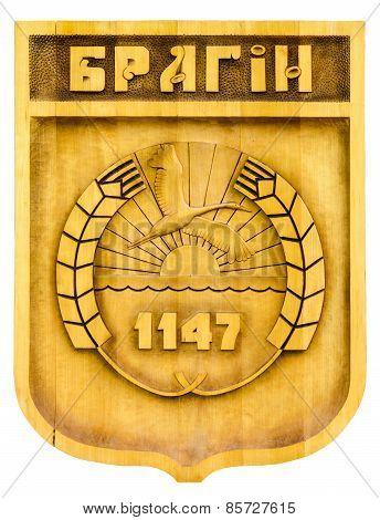 Coat Of Arms Of City Bragin