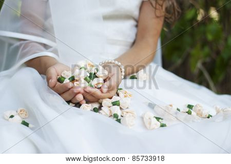 Bride First Holy Communion Flowers