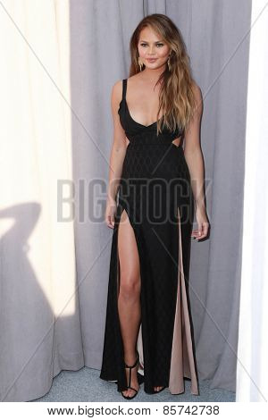 LOS ANGELES - MAR 14:  Chrissy Teigen at the Comedy Central Roast of Justin Bieber at the Sony Pictures Studios on March 14, 2015 in Culver City, CA