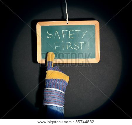Safety First Concept