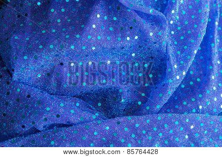 closeup of beautiful vibrant textile background