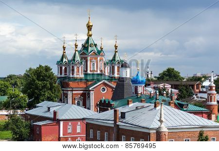 Cathedral of the Exaltation of the Holy Cross in Kolomna Kremlin Russia poster