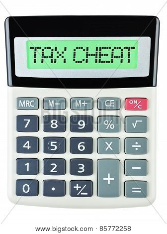 Calculator With Tax Cheat