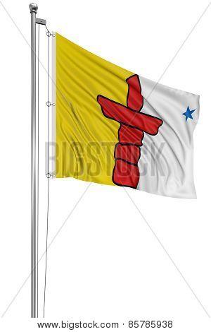 3D Nunavut  Flag