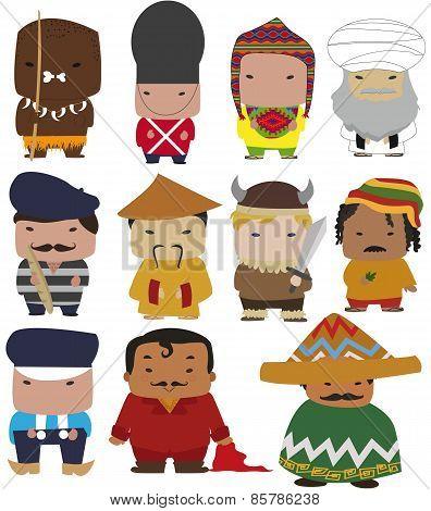 world characters