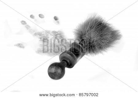 .handprint And Brush