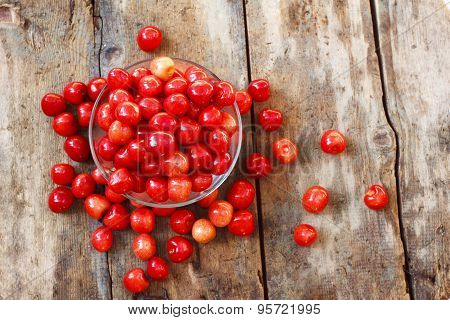 Cherry In A Plate