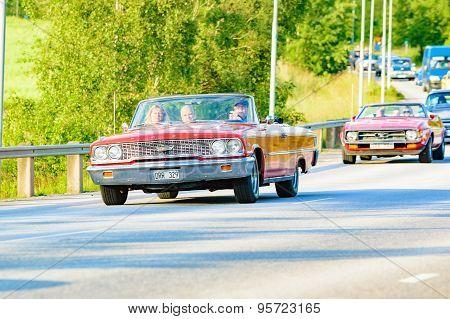 Ford Galaxie 500 Xl Red 1963
