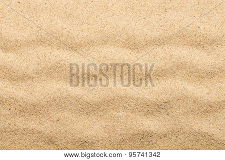 Sand texture with wave
