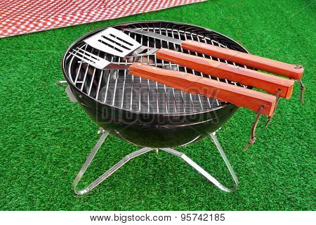 Summer Bbq Grill Party Or Picnic Concept