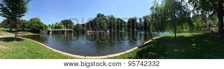 Boston Public Garden, USA