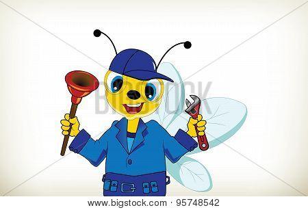 Plumber Bee