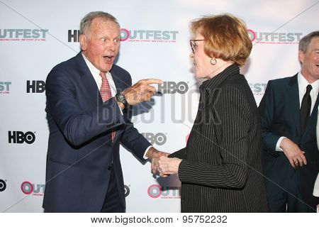 LOS ANGELES - JUL 11:  Tab Hunter, Carol Burnett at the
