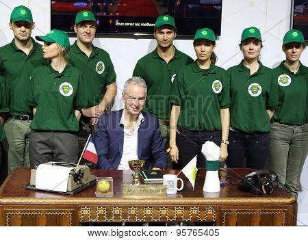 Seven times Grand Slam champion John McEnroe presents