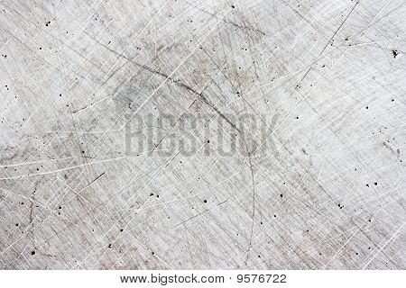 Scratchy Metal Plate