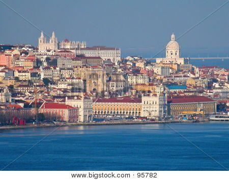 Historical Downtown Lisbon
