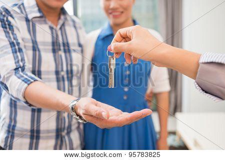 Giving Keys