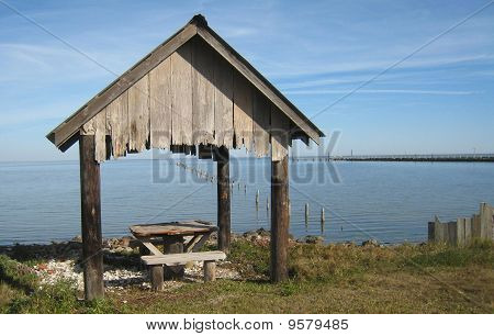 Battered Picnic Shelter