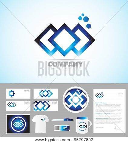 Abstract Company Corporate Identity Template Logo