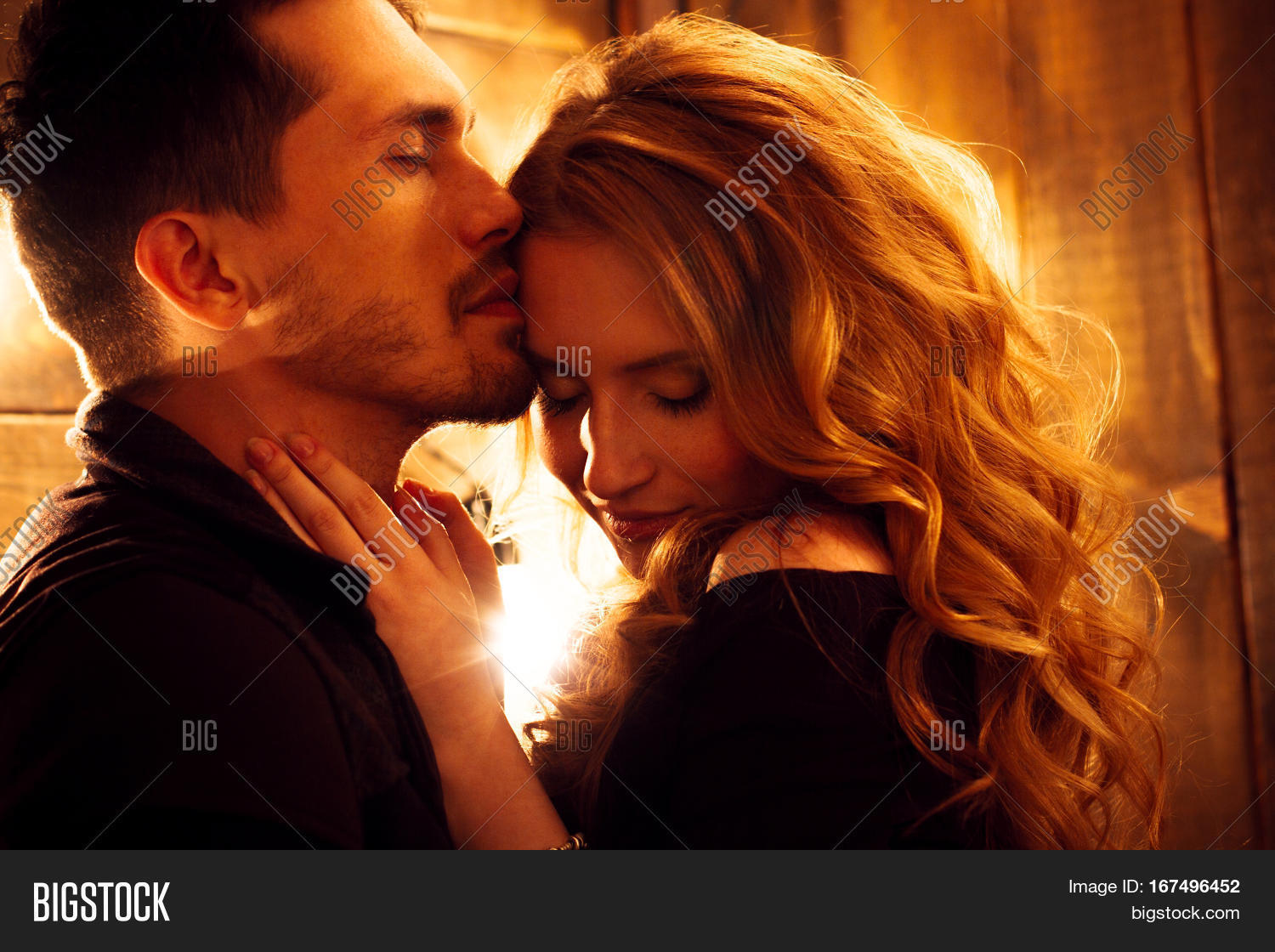 Beautiful Couple Love Image  Photo Free Trial  Bigstock-4346