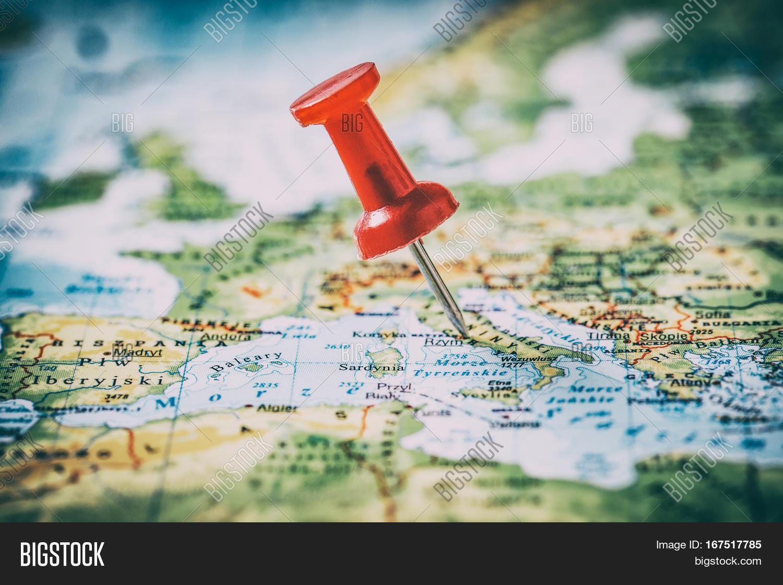 Travel Pinning Pin Image Photo Free Trial Bigstock - World map to mark travels