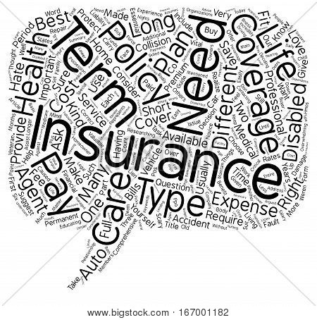 Insurance Made Easy A Guide For The Consumer text background wordcloud concept