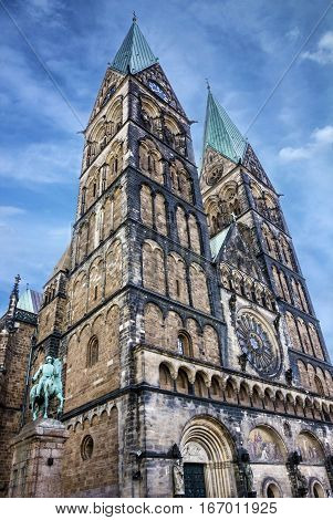 Bremen Cathedral church building (Bremer Dom), Germany