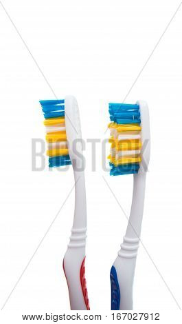 Toothbrush idental tool solated on white background