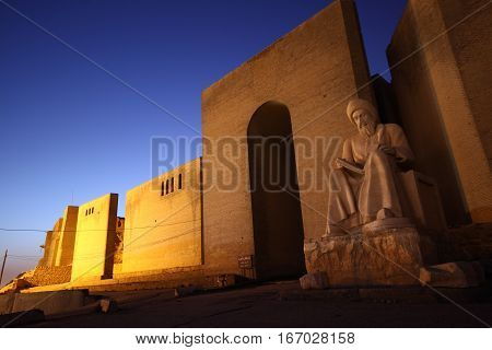 Old Arbil Castle in Arbil, kurdistan, North Iraq.