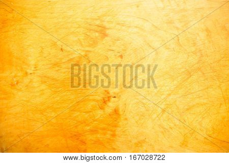 Photo of wooden cutting board in kitchen
