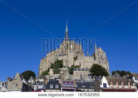 Mont Saint Michel Abbey. France