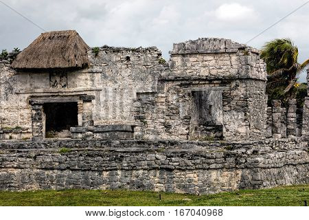 Ancient Mayan House Of The Halach Uinic