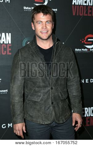 LOS ANGELES - JAN 25:  Luke Hemsworth at the